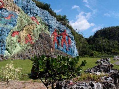 Vinales gekleurde rotsen